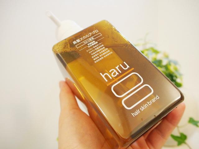 haru黒髪スカルプ・プロ シャンプーの使い心地は?